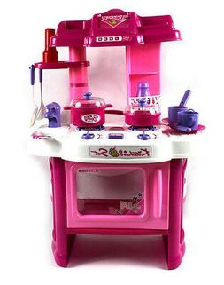 """24"""" Beauty Kitchen Appliance Cooking Toy Play Set Children L"""