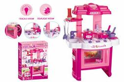 """24"""" Deluxe Beauty Kitchen Appliance Cooking Play Set 24"""" Wit"""