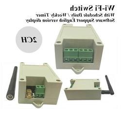 2CH WiFi Delay Switch for APP Controling Electric Appliance
