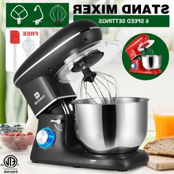 6.2QT 3In 1 Stand Mixer Kitchen Appliance Electric Pros 6 Sp