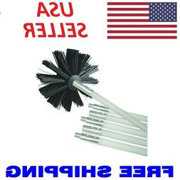 """Dryer Duct Cleaning Kit 12"""" Clear Clean Flexible Cleaner Rem"""