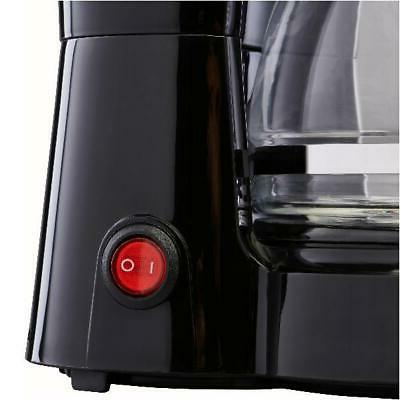 5 Cup Coffee Maker Brew Electric Brewer Filter Black