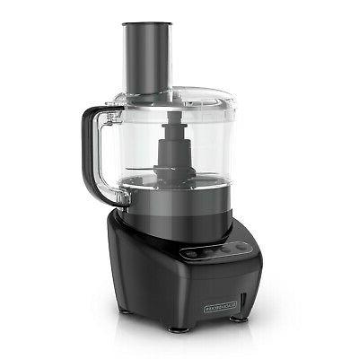 black decker easy assembly 8 cup food