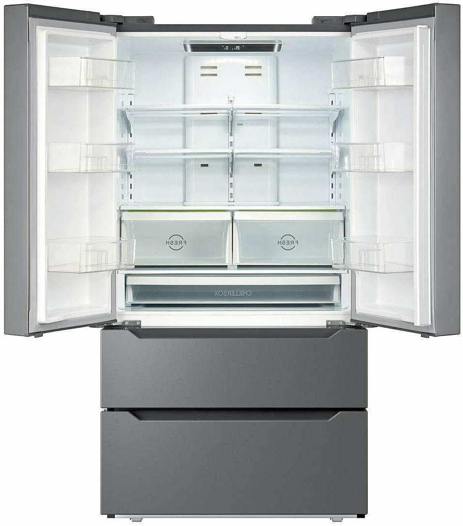 Counter French Refrigerator Freezer Side-by-Side 22.5 ft US