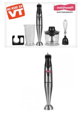 new powerstick blender with accessories kit 80