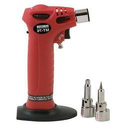 Master Appliance Microtorch Trigger Butane Torch w Hot Air T