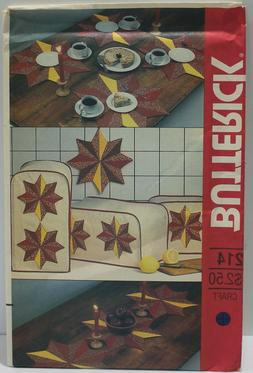 sewing pattern 214 kitchen placemats appliance covers