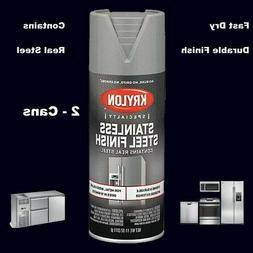 Stainless Steel Appliance Spray Paint    Fast Dry Finish